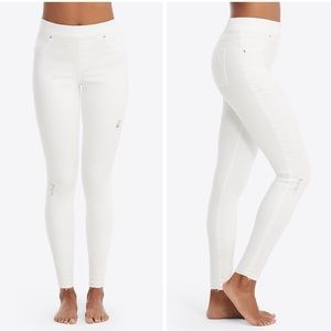 New Spanx Distressed Skinny Jeans